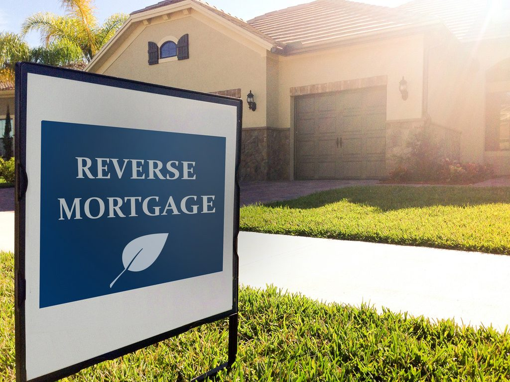 reverse mortgage - sign