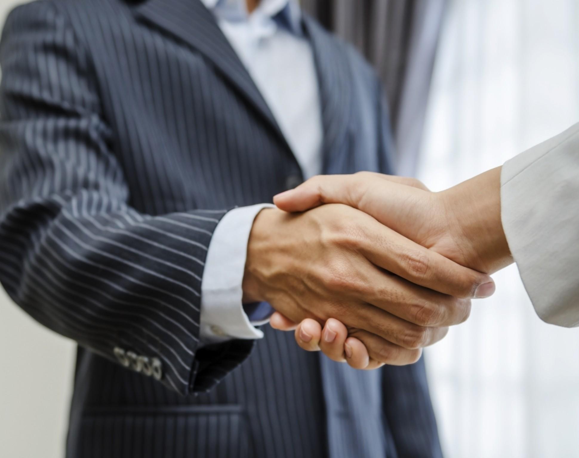 client relationships - handshake