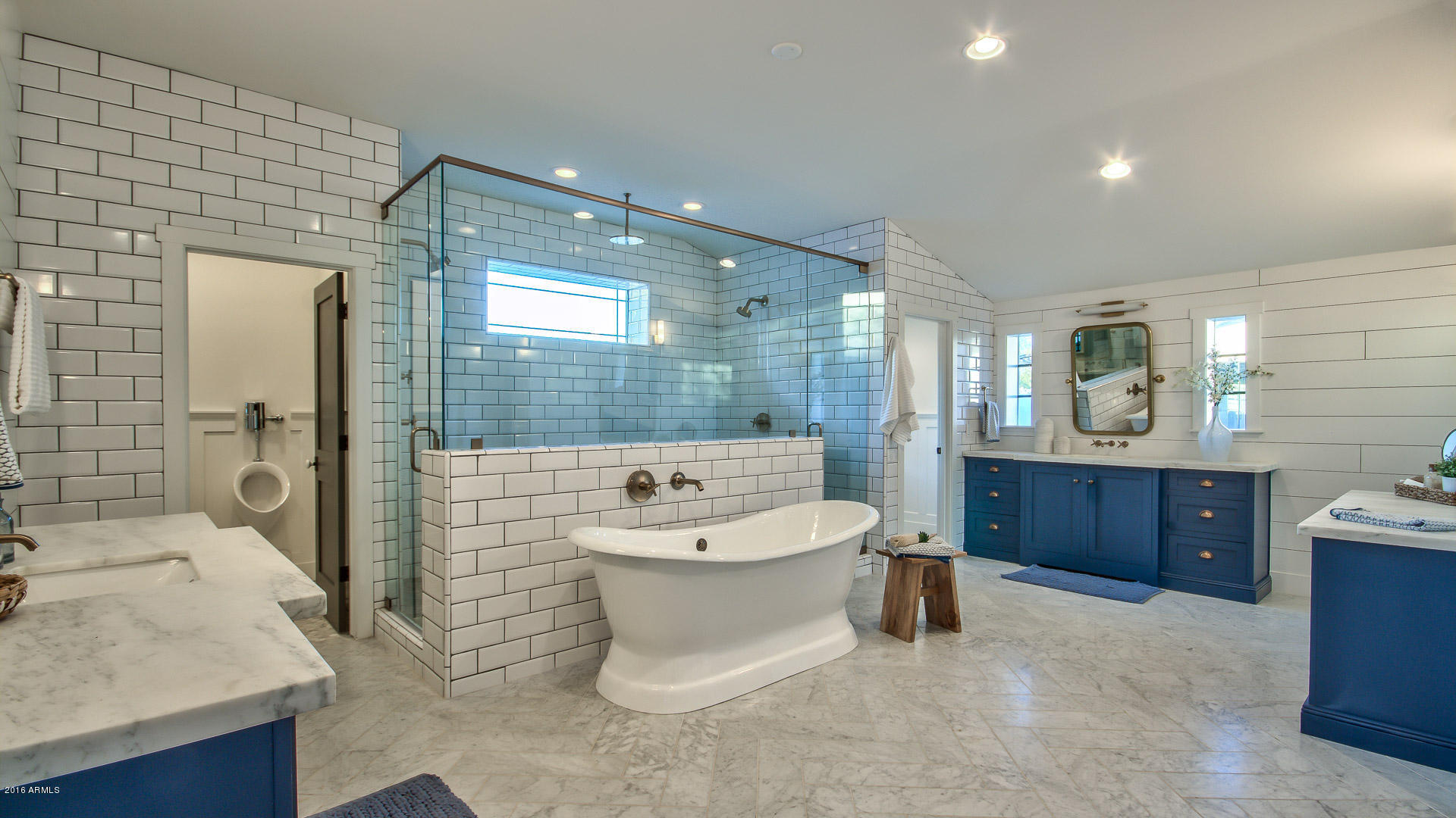 master bathroom - color