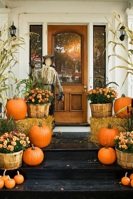fall - porch