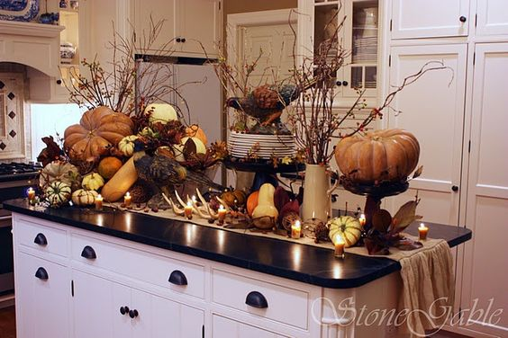 fall - kitchen