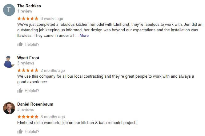 cabinets - elmhurst