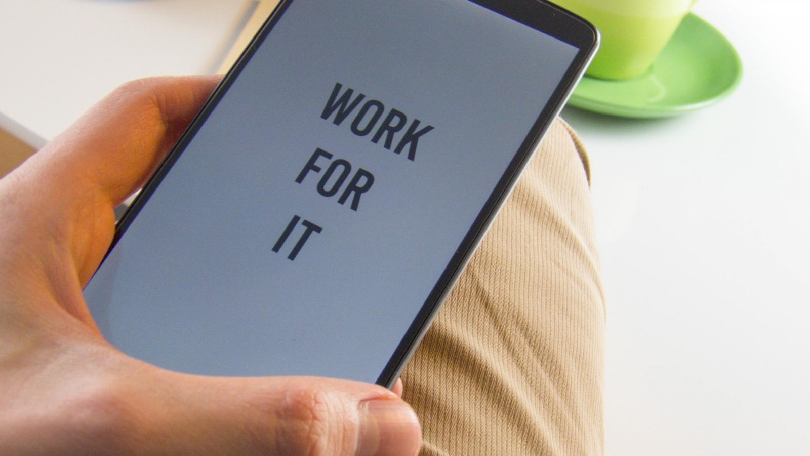 hustle - work