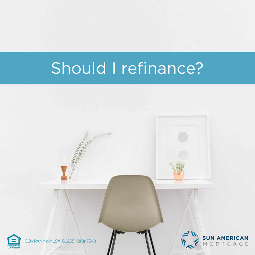 Should I Refinance my Home