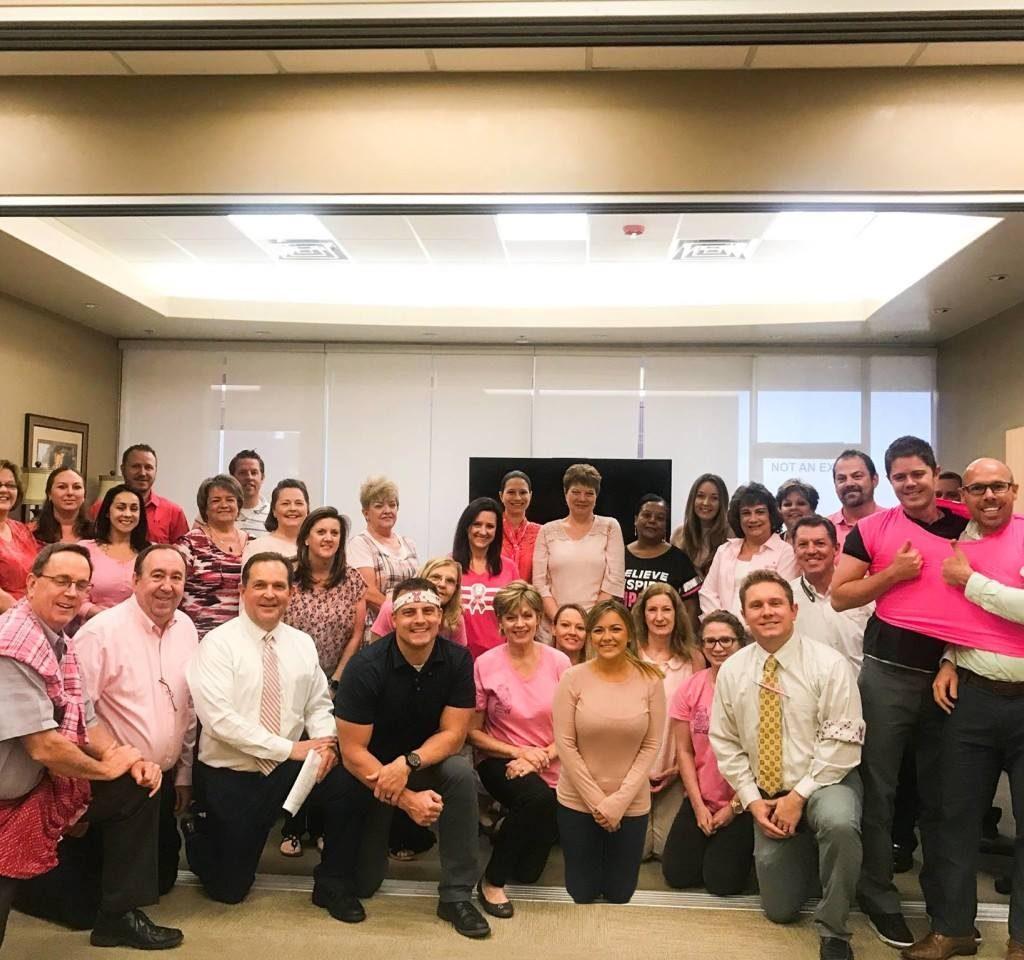Pink Day Breast Cancer Awareness at Sun American Mortgage | Home Loans | Mesa Arizona