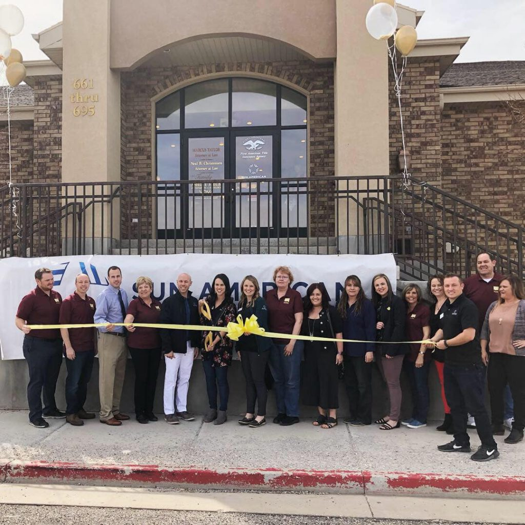 Richfield Utah Sun American Mortgage Office Opening Day
