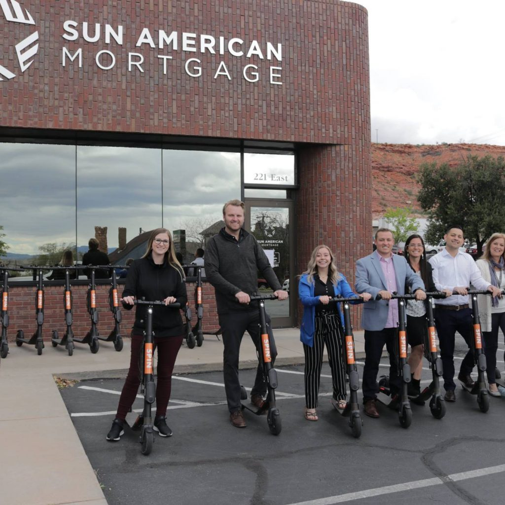 Scooters with The Staples Group Team Saint George Utah
