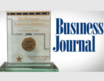 Top Mortgage Bankers and Brokers Sun American Mortgage Business Journal Award