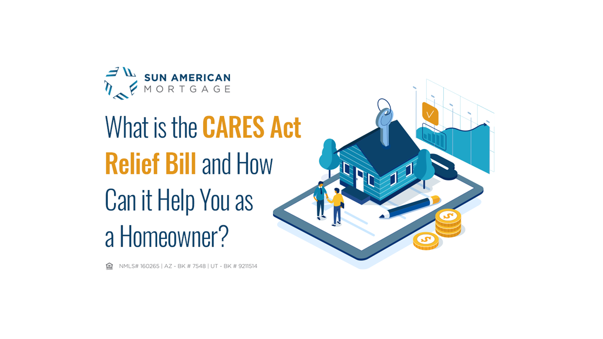 The CARES Act Relief Bill and How it Can Help You as a Homeowner