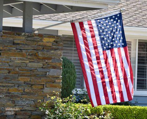 American Flag VA Loan