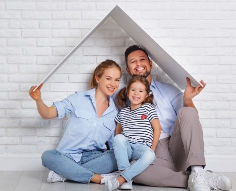 Conventional Home Loan Mortgage Family